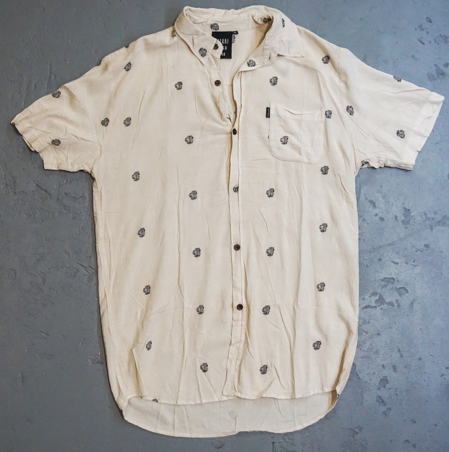 Rose shirt vintage white