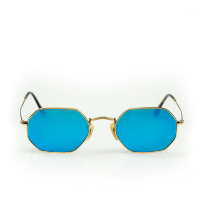 The Sixes - Gold/ Blue (Polarised)