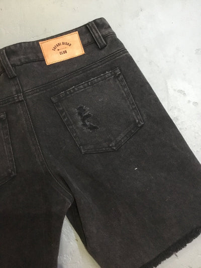 Frisco denim shorts - vintage black