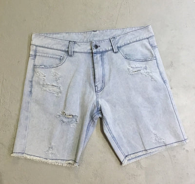 Frisco denim shorts - vintage blue