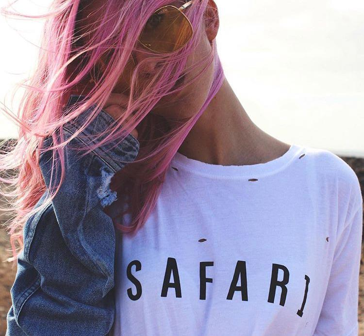 Safari Tee / White