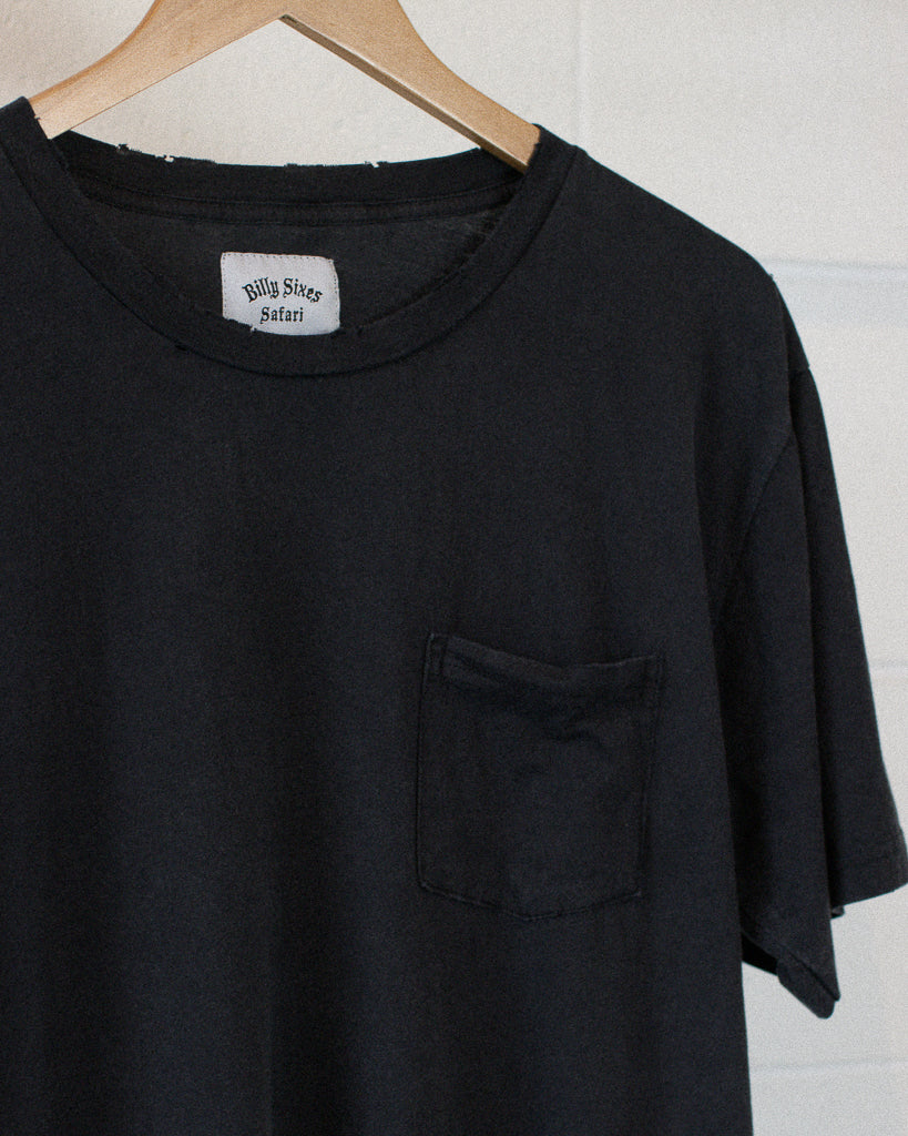 Blank Pocket Tee - Black