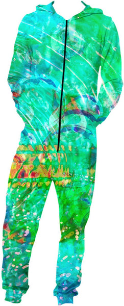 Green Love Potion 7 Onesie #2