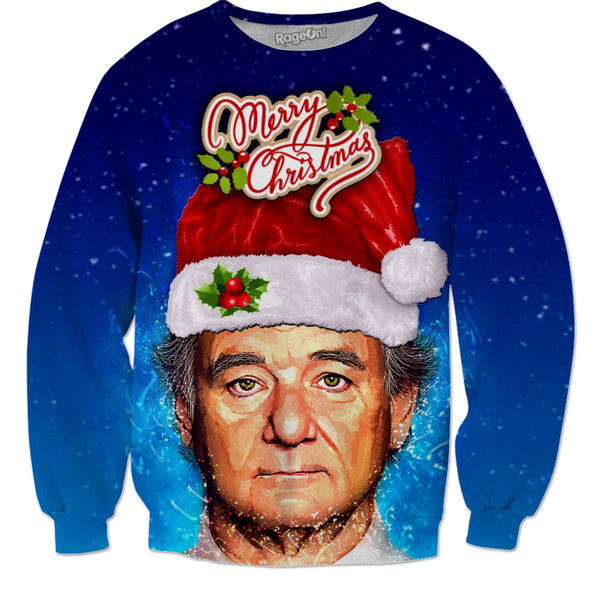 Bill Murray Christmas Sweater (With Title)