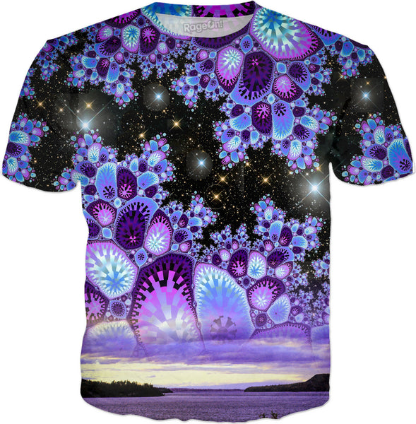 Purple Diamond Sky T-Shirt