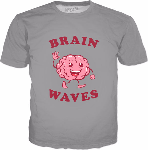 Brain Waves T-Shirt - Funny Science Biology