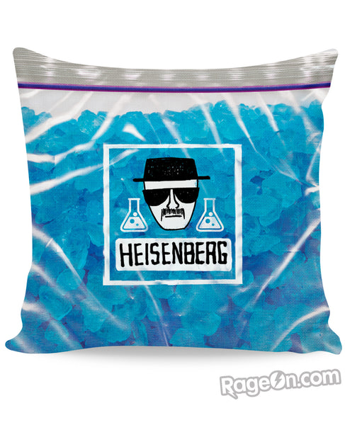 Heisenberg's Blue Meth Couch Pillow