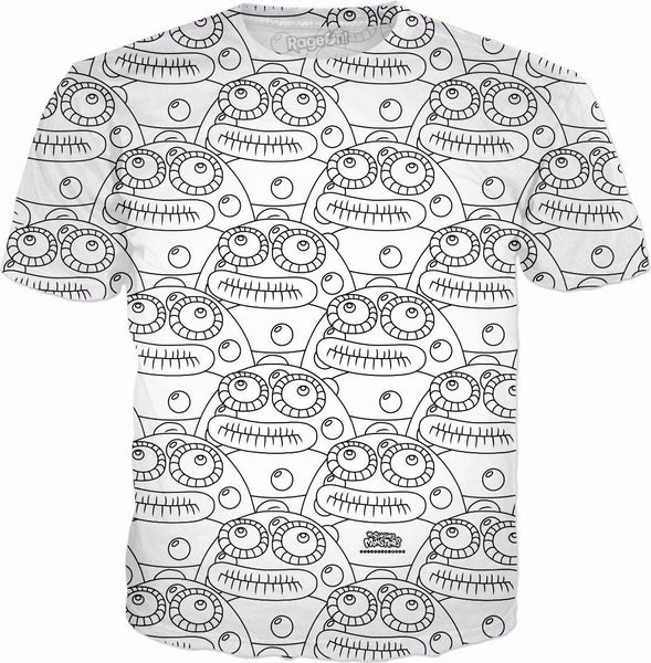 My Singing Monsters: Coloring Book Toe Jammer T-Shirt