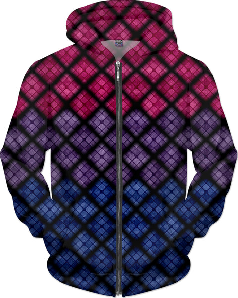 Bisexual Diamond Scales Pattern