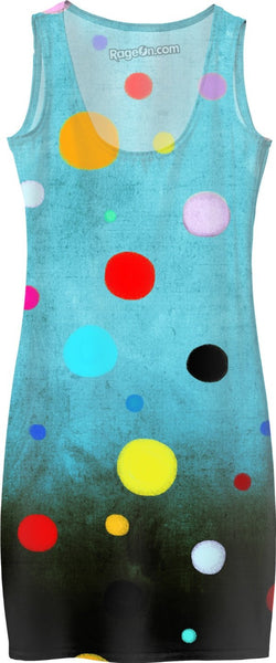 Ruth Fitta Schulz  -  Abstract Ombre Polka Dots Art