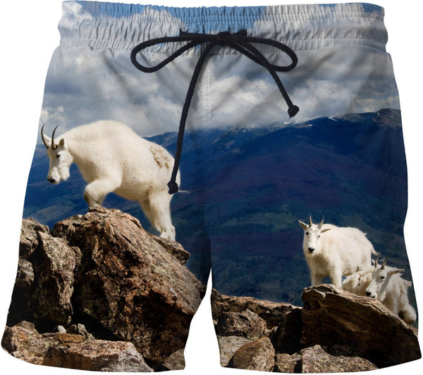 Colorado Mountain Goats Swim Shorts