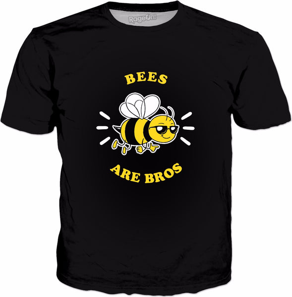Bees Are Bros T-Shirt - Save The Bees Beekeeper Gift