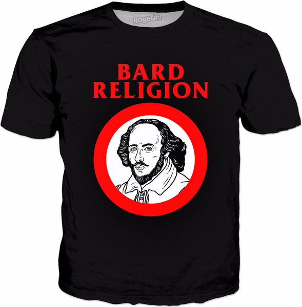 Bard Religion T-Shirt - William Shakespeare Punk Rock