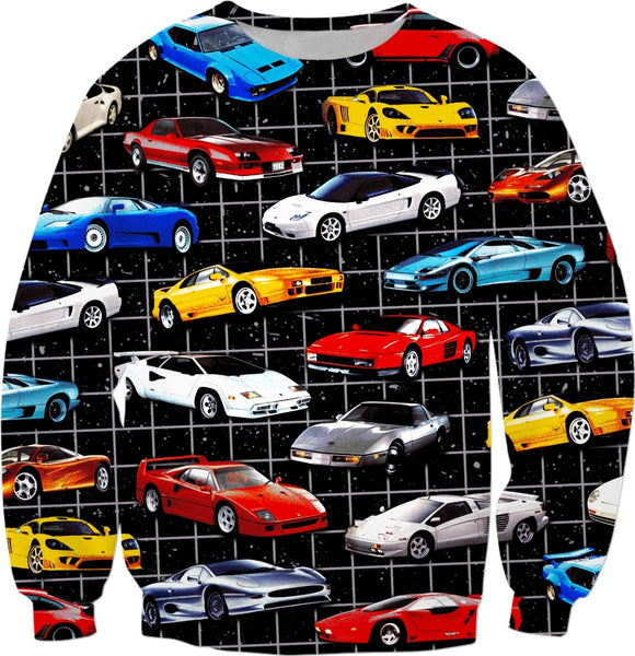 Dream Cars Sweatshirt