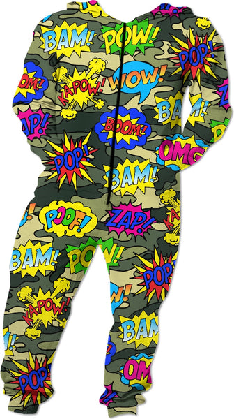 Camo Pop Art Onesie