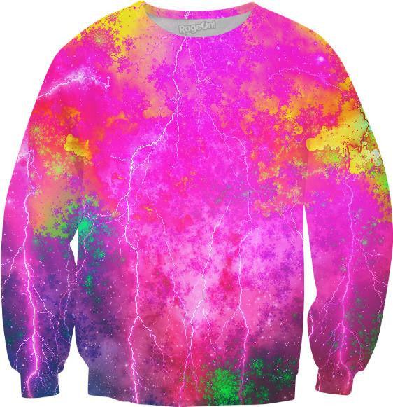 Blue And Pink Prophecy Sweatshirt