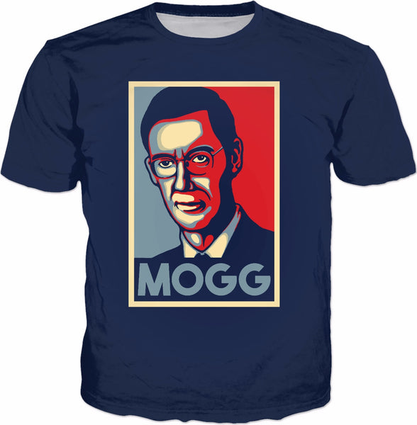 Mogg Hope T-Shirt - Jacob Rees-Mogg Parody Conservative