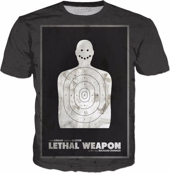 Lethal Weapon Movie Poster Tee
