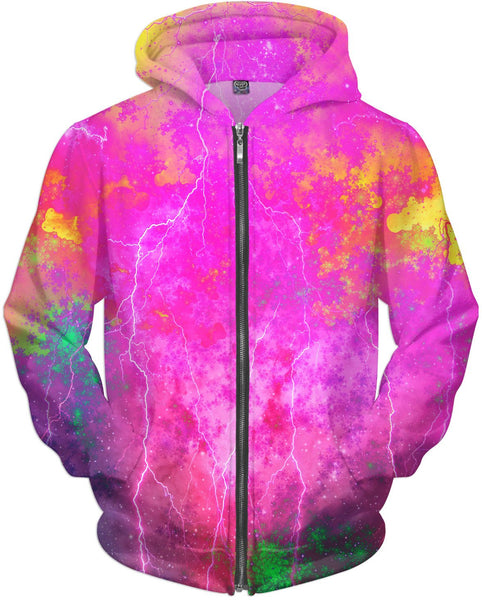 Blue And Pink Prophecy Hoodie