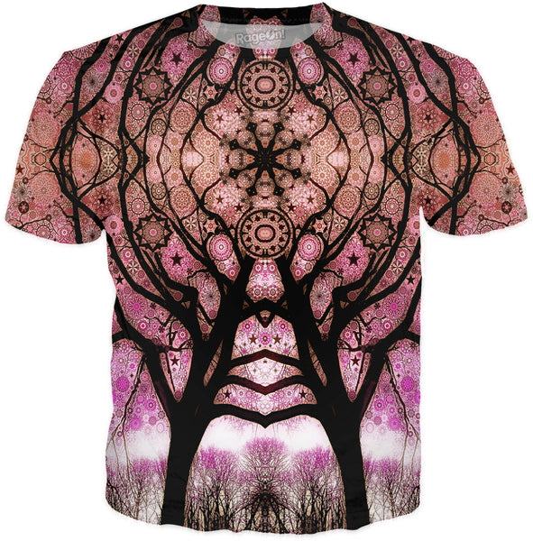 Black Star Trip Tree T-Shirt