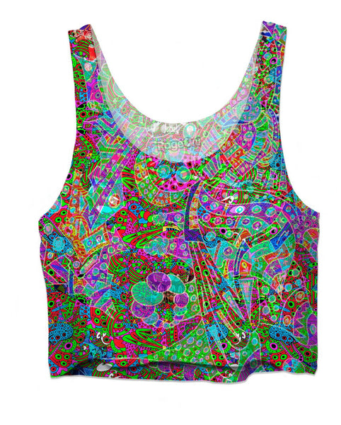 Hyperdimensional Wind 10 Crop Top