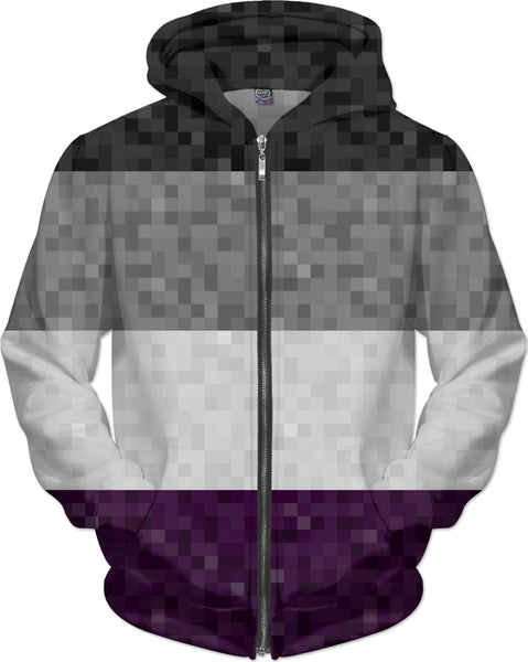 Asexual Pixel Flag