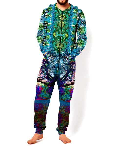 Limited Edition Blue Trip Tree Onesie