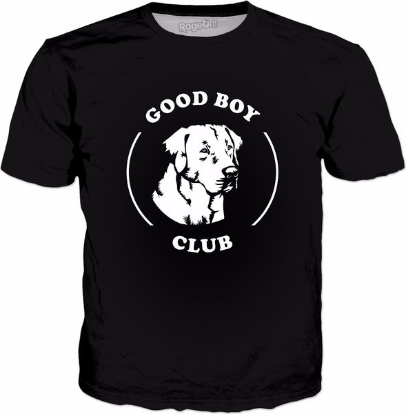 Good Boy Club T-Shirt - Funny Cute Labrador Dog
