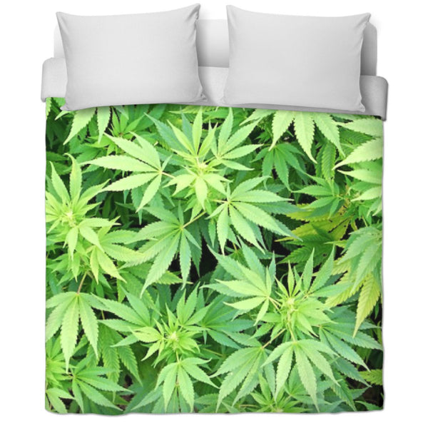Ganja Garden Duvet Covers