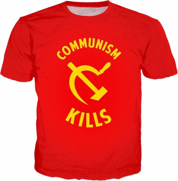 Communism Kills  T-Shirt - Anti-Communist Free Markets