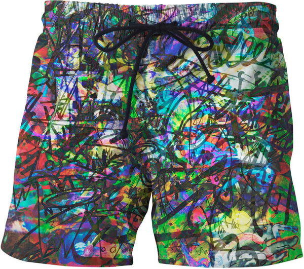 The Real Time Is Now Swim Shorts