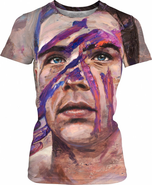 Brave Face Womens T-Shirt