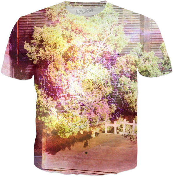 Misty Tree Portal T-Shirt