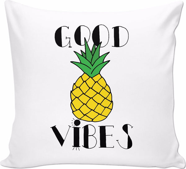 Good Vibes Pineapple Couch Pillow