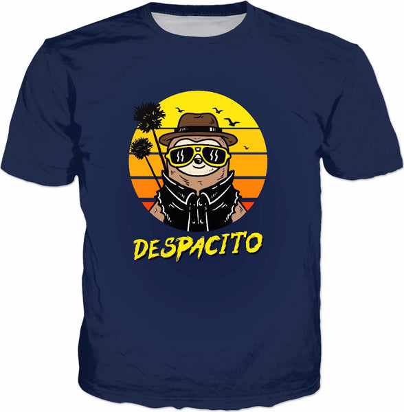 Despacito Sloth T-Shirt - Funny Summer Slow Joke Tee