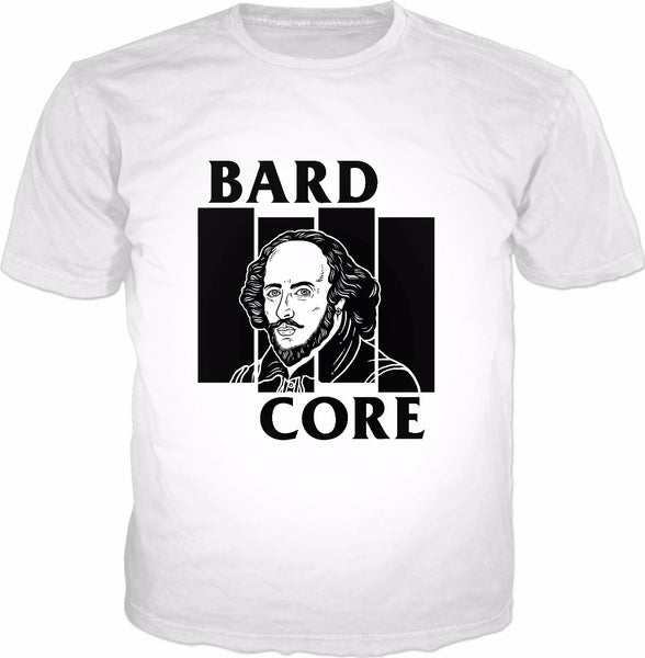 Bardcore T-Shirt - William Shakespeare Punk Rock