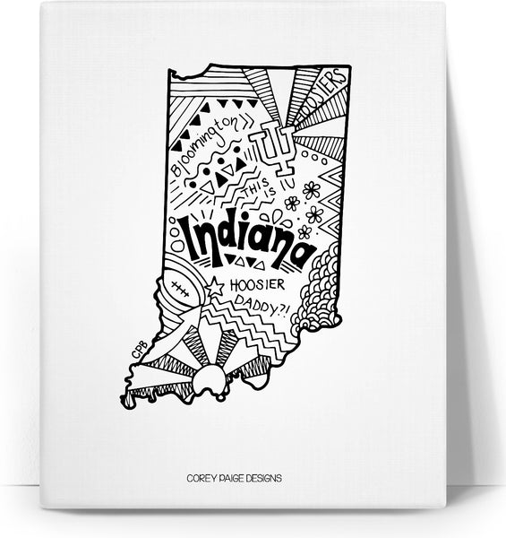 Indiana Drawing Canvas