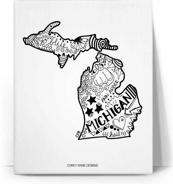 Michigan Drawing Canvas
