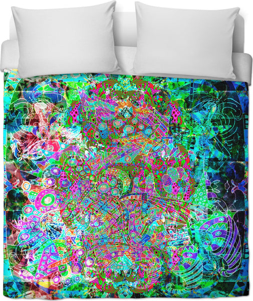 Hyperdimensional Wind Duvet Cover