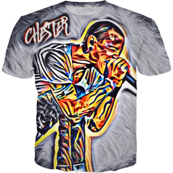 Chester Bennington Tribute Tee's (Neon)