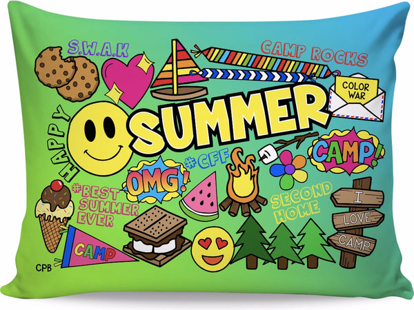 Happy Summer Pillowcase