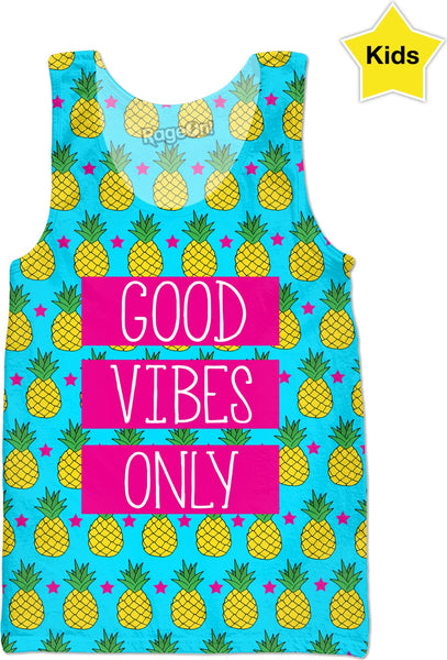 """Good Vibes Only Pineapple"""
