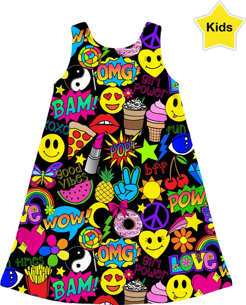 Fun Times Kids Dress