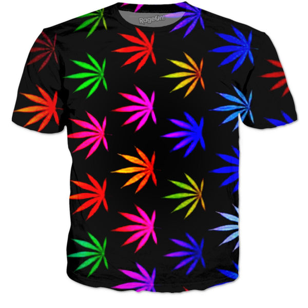 Rainbow Reefer T Shirt