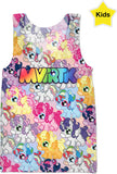 MVTRTK ALICORN Kids Tank Top
