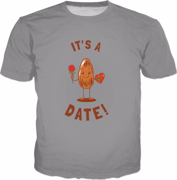 It's A Date! T-Shirt - Funny Valentines Fruit Love