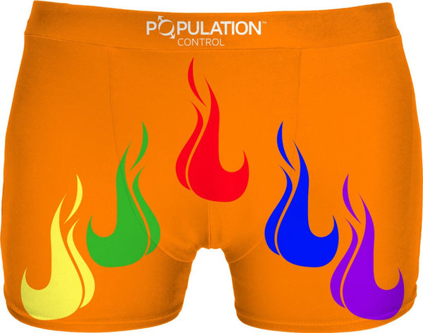 PRIDE FLAMES ORANGE
