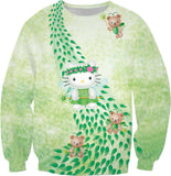Hello Kitty Green Fairy Sweatshirt
