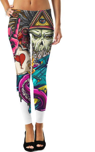 Demon Rocker Leggings