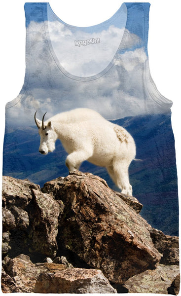 Colorado Mountain Goat Tank Top
